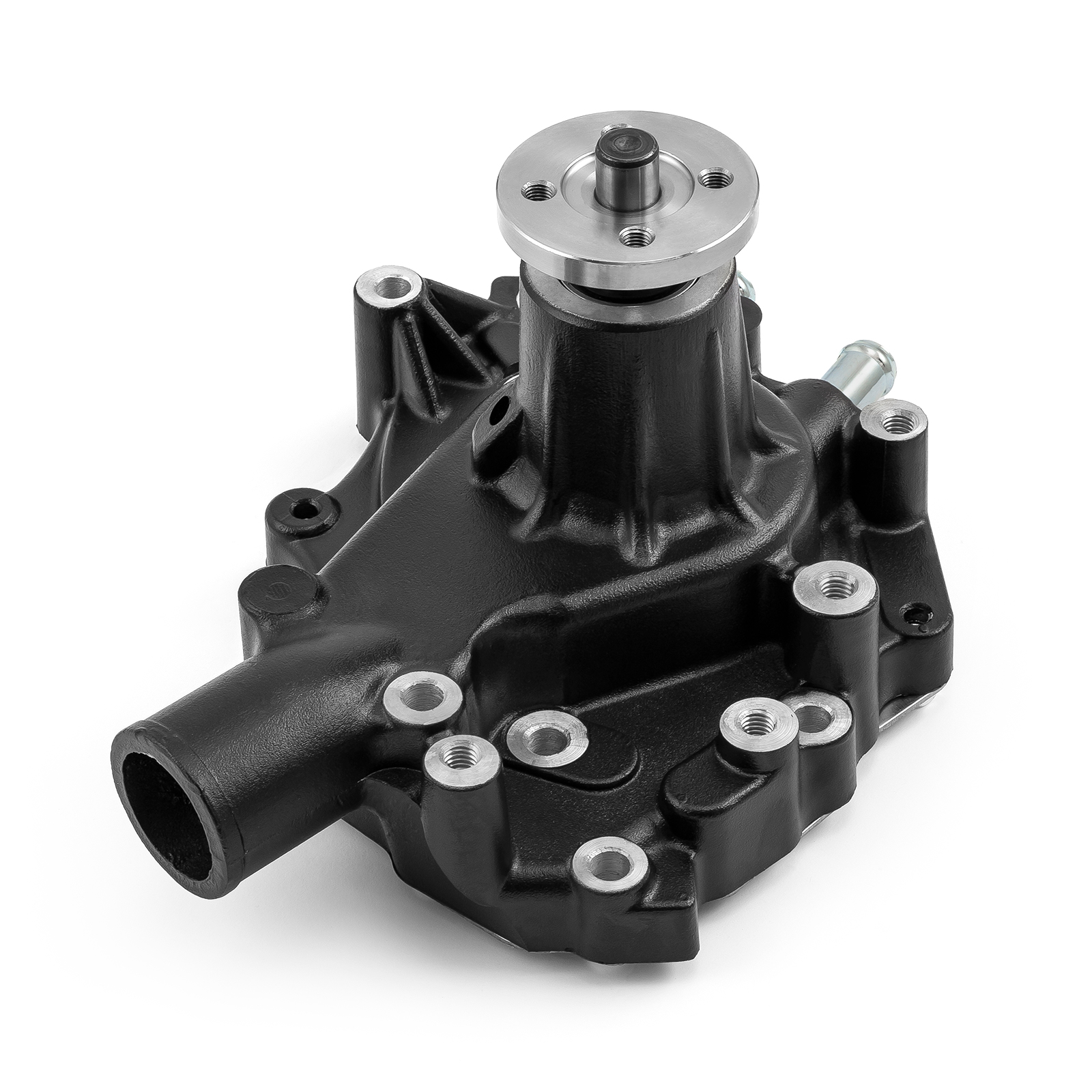 Ford SB 289 302 351 Windsor High Volume Aluminum LH Side Water Pump Black