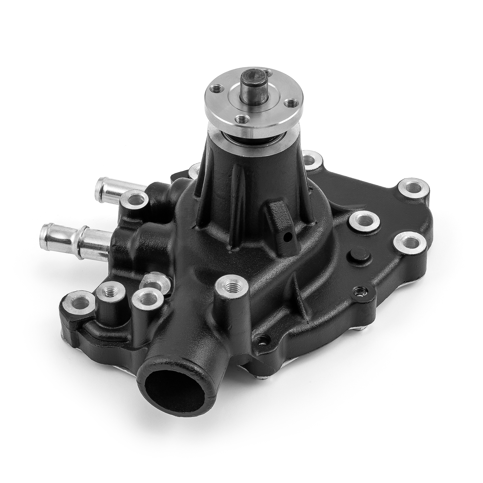 Ford SB 289 302 351 Windsor High Volume Aluminum RH Side Water Pump Black
