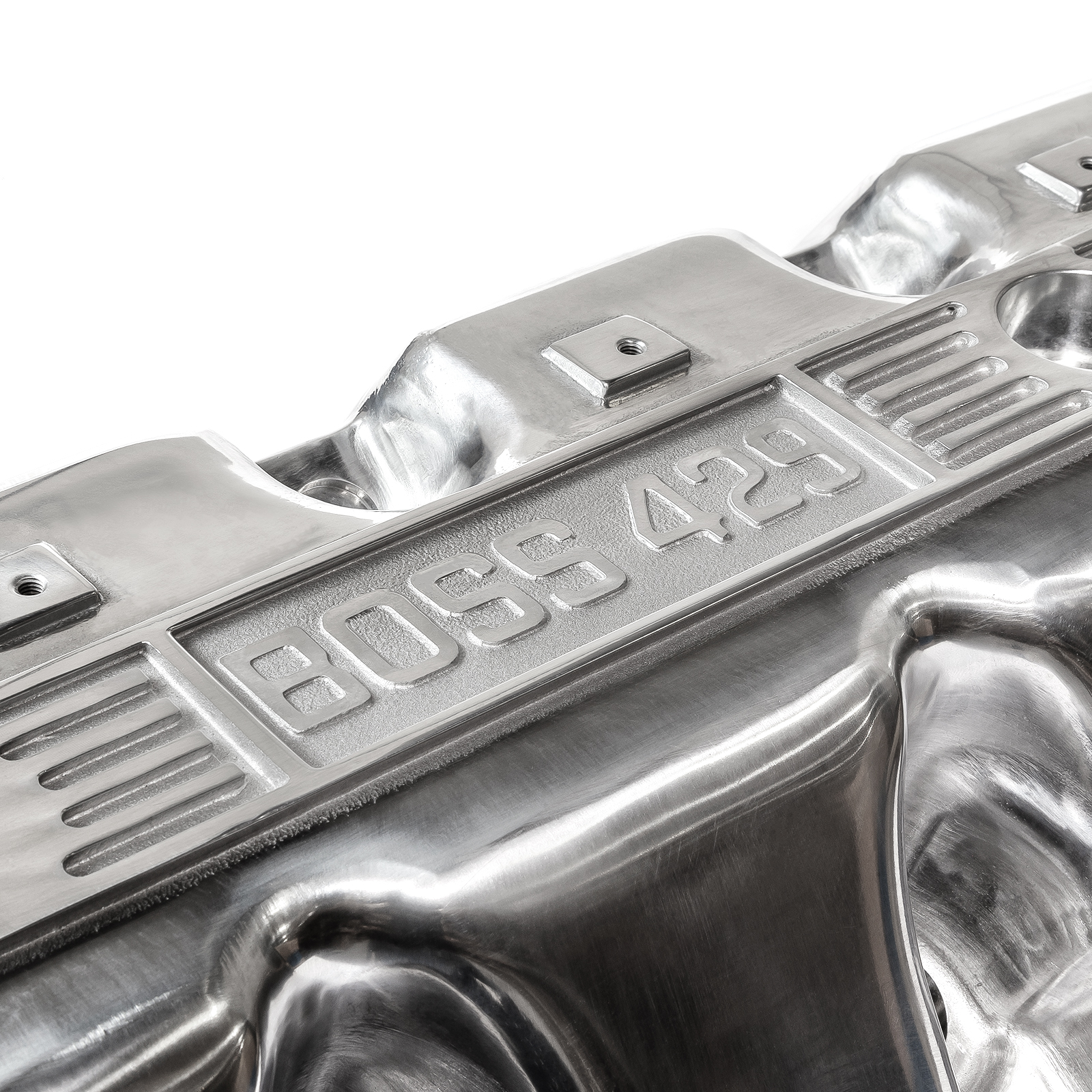 PCE® PCE314.1243.05 Ford Boss 429 Cast Aluminum Valve Covers - Polished