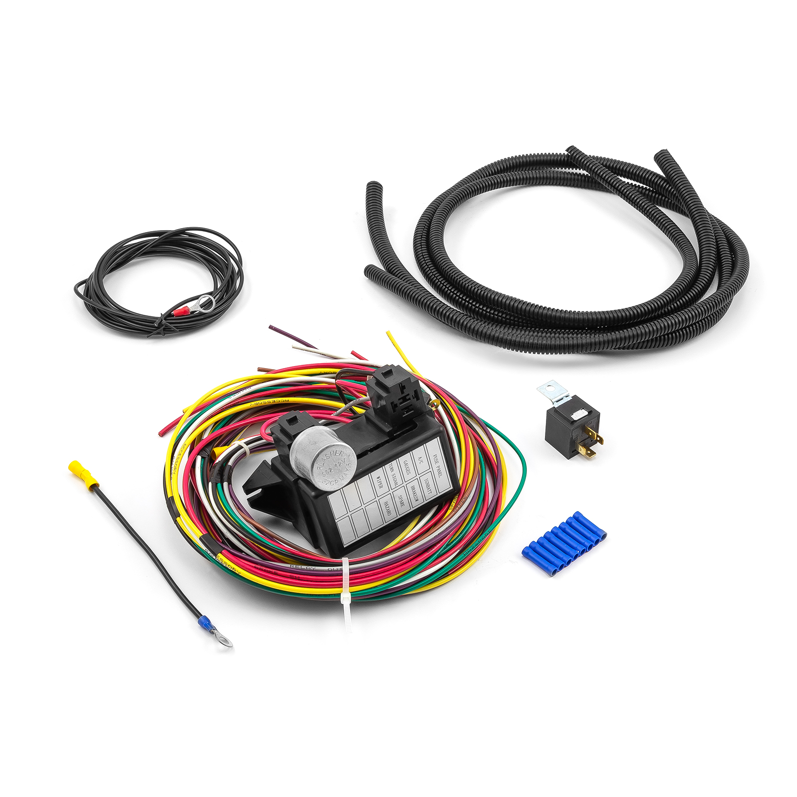 Universal 8 Circuit Wiring Harness Kit