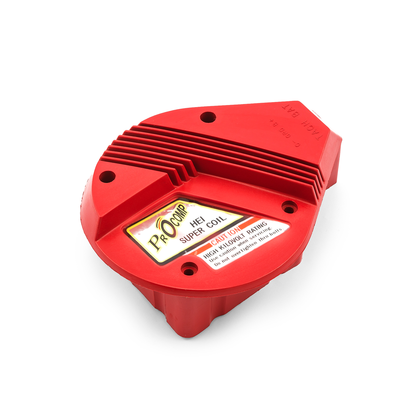 HEI Distributor Coil Cover Only - A Style - Red