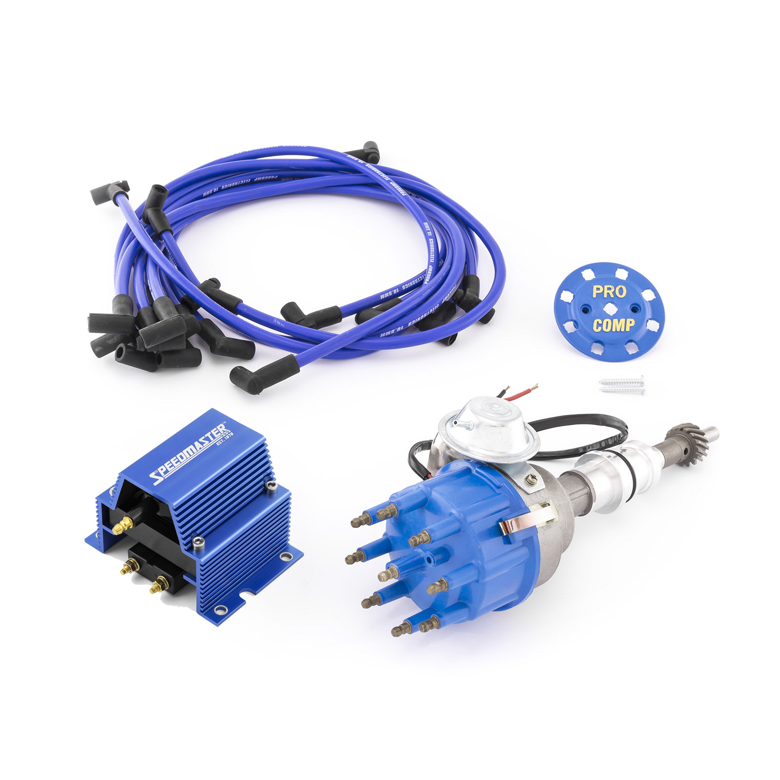 Ford SB 289 302 Windsor Ready-to-run Distributor w/Coil & Wire Leads