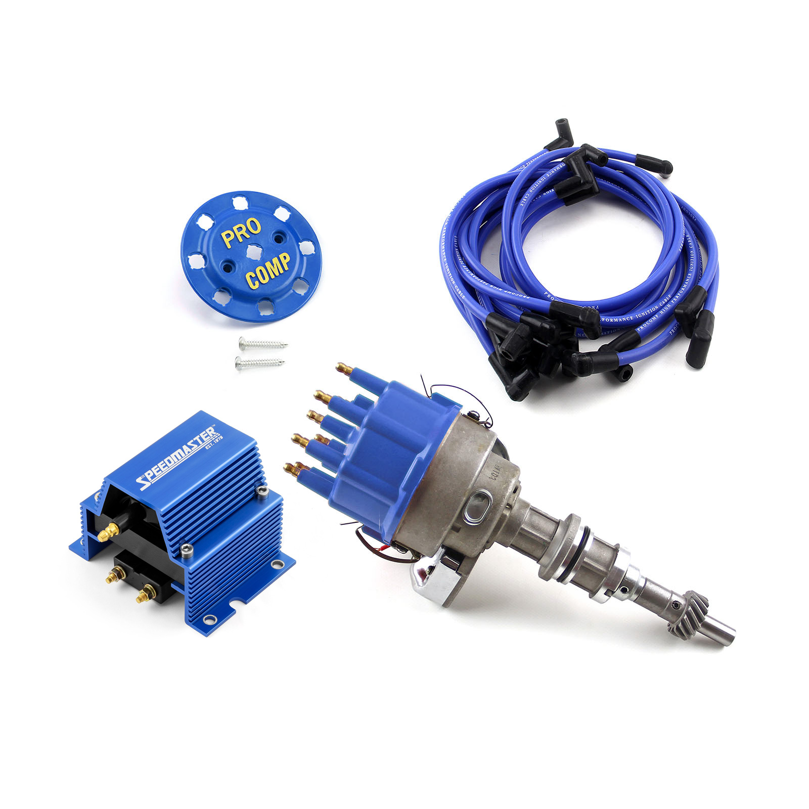 fits Ford 351W Windsor RPM Ready to Run Electronic Distributor Vacuum