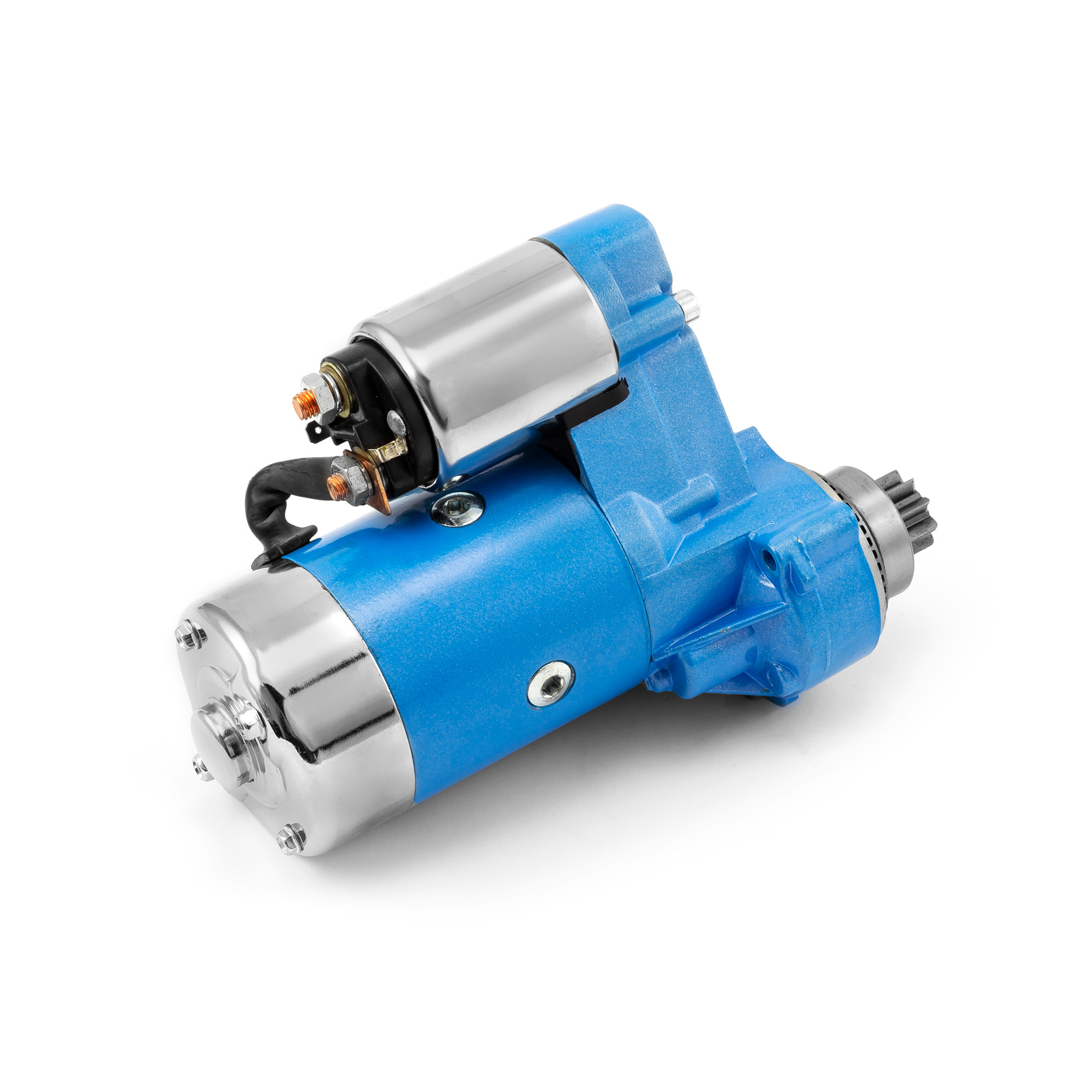 Mini Muscle 4Hp Starter Motor Blue (w/o block)