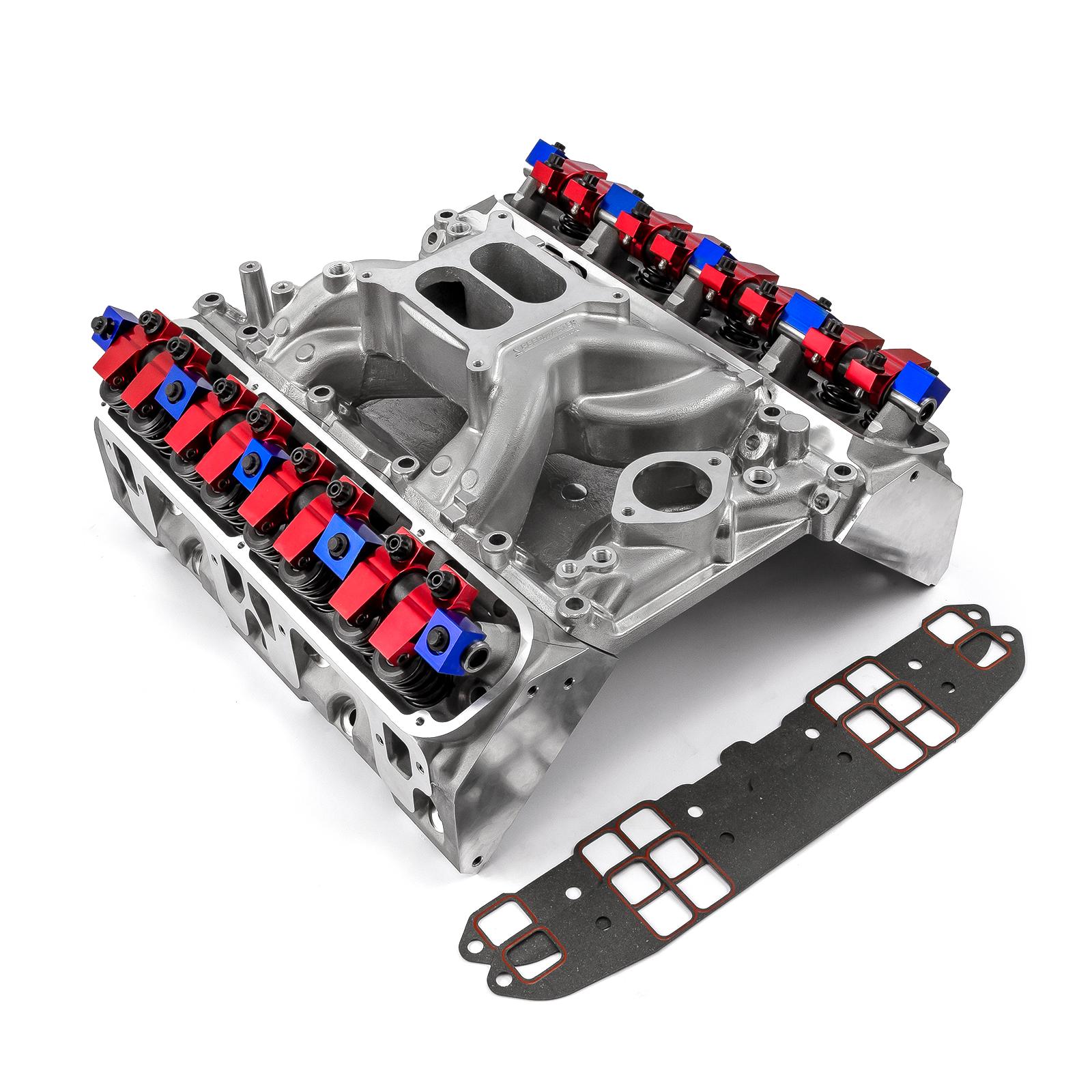 Mopar Chrysler SB 318 340 360 Hyd Roller Cylinder Head Top End Engine Combo Kit