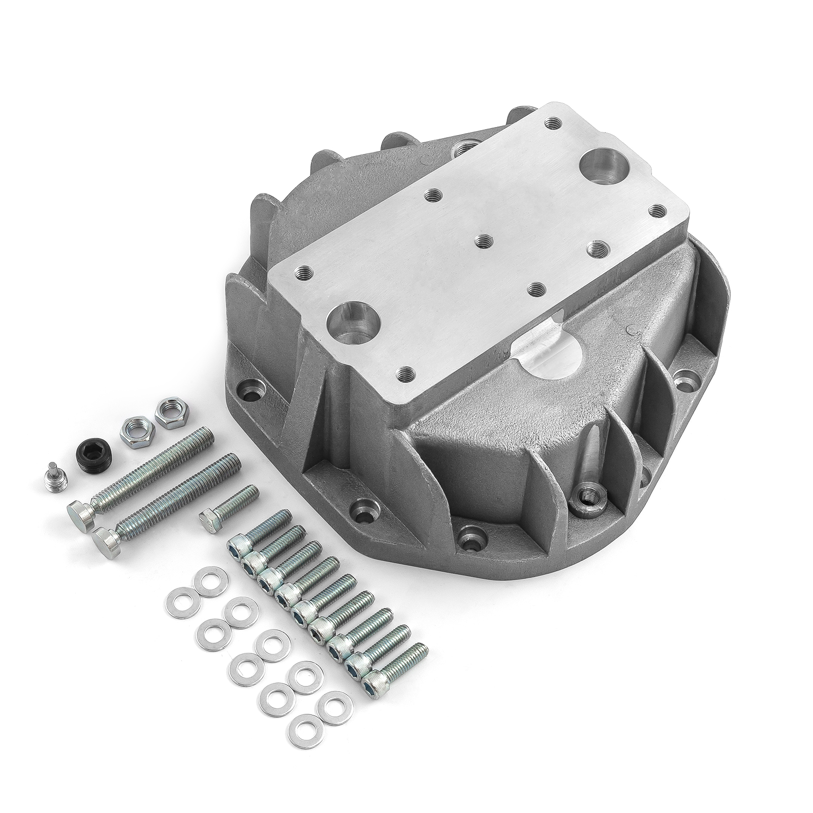 Dana 50 60 70 10-Bolt Aluminum Differential Rear Cover