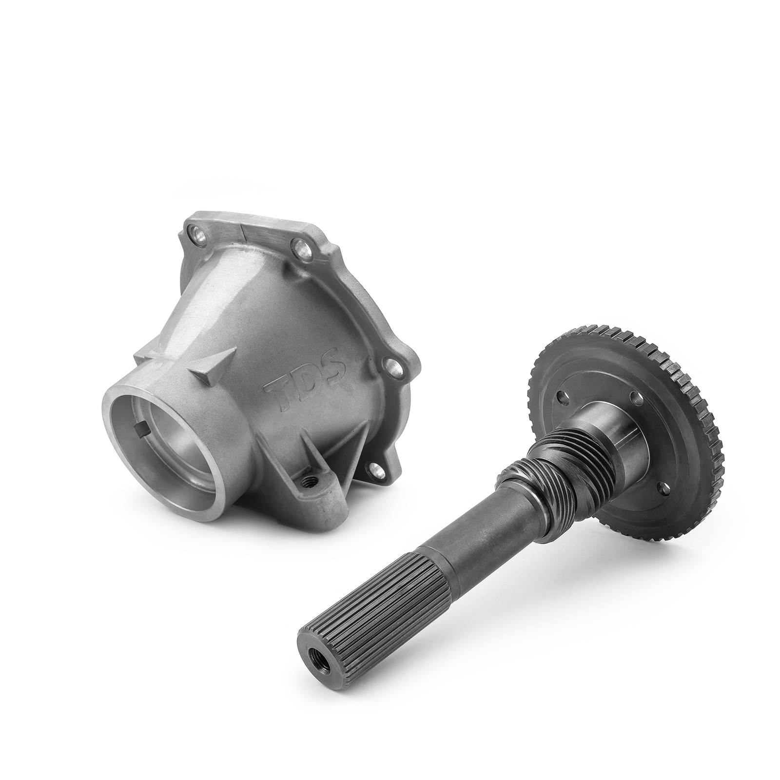 PCE® PCE598.1007 Turbo 400 TH400 Standard Length Output Shaft and Tail Housing Combo