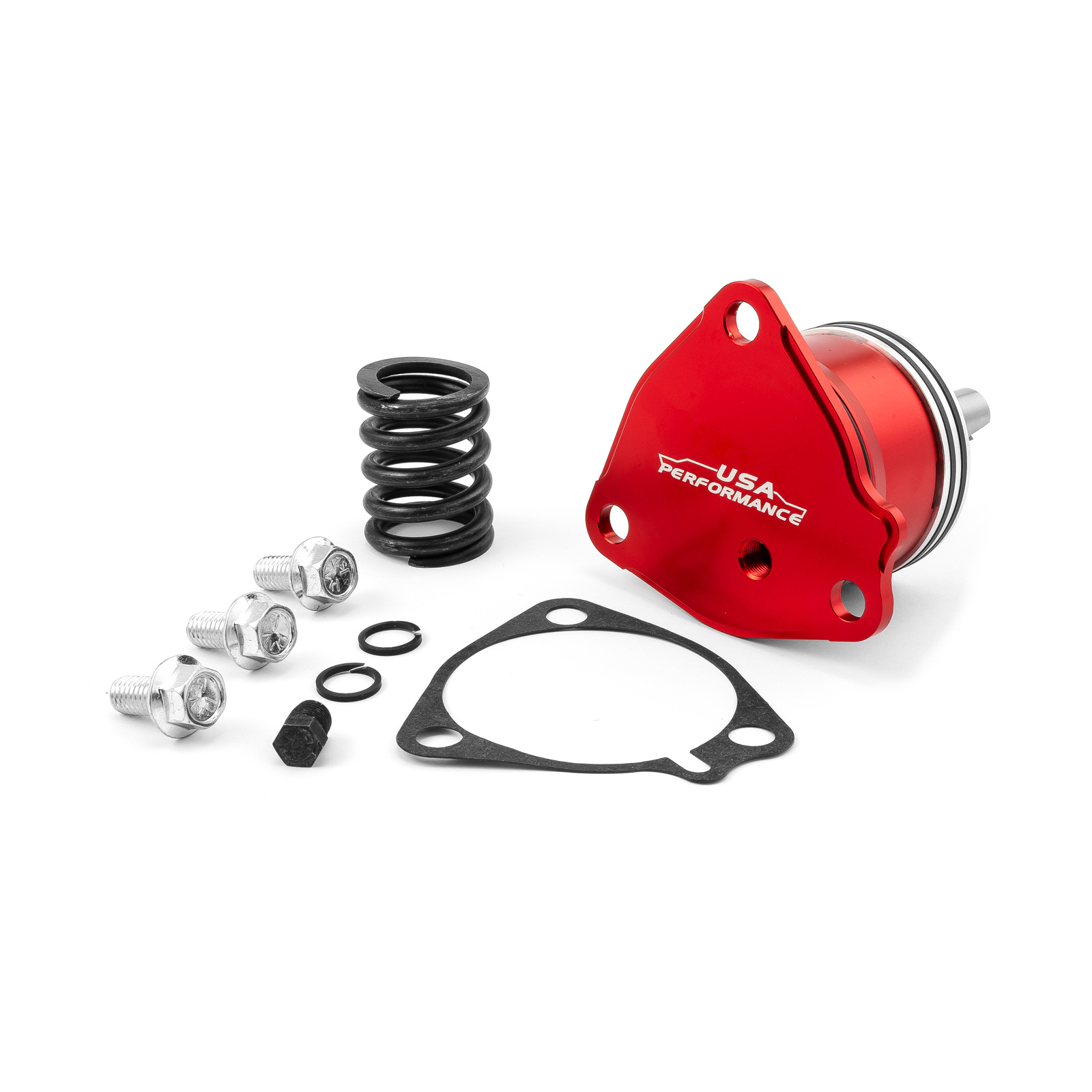 GM Powerglide Automatic Transmission Billet 1st Gear Servo Piston Kit [Red]
