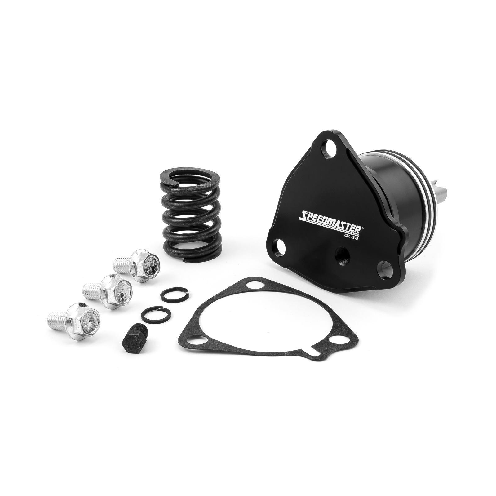 GM Powerglide Automatic Transmission Billet 1st Gear Servo Piston Kit [Black]