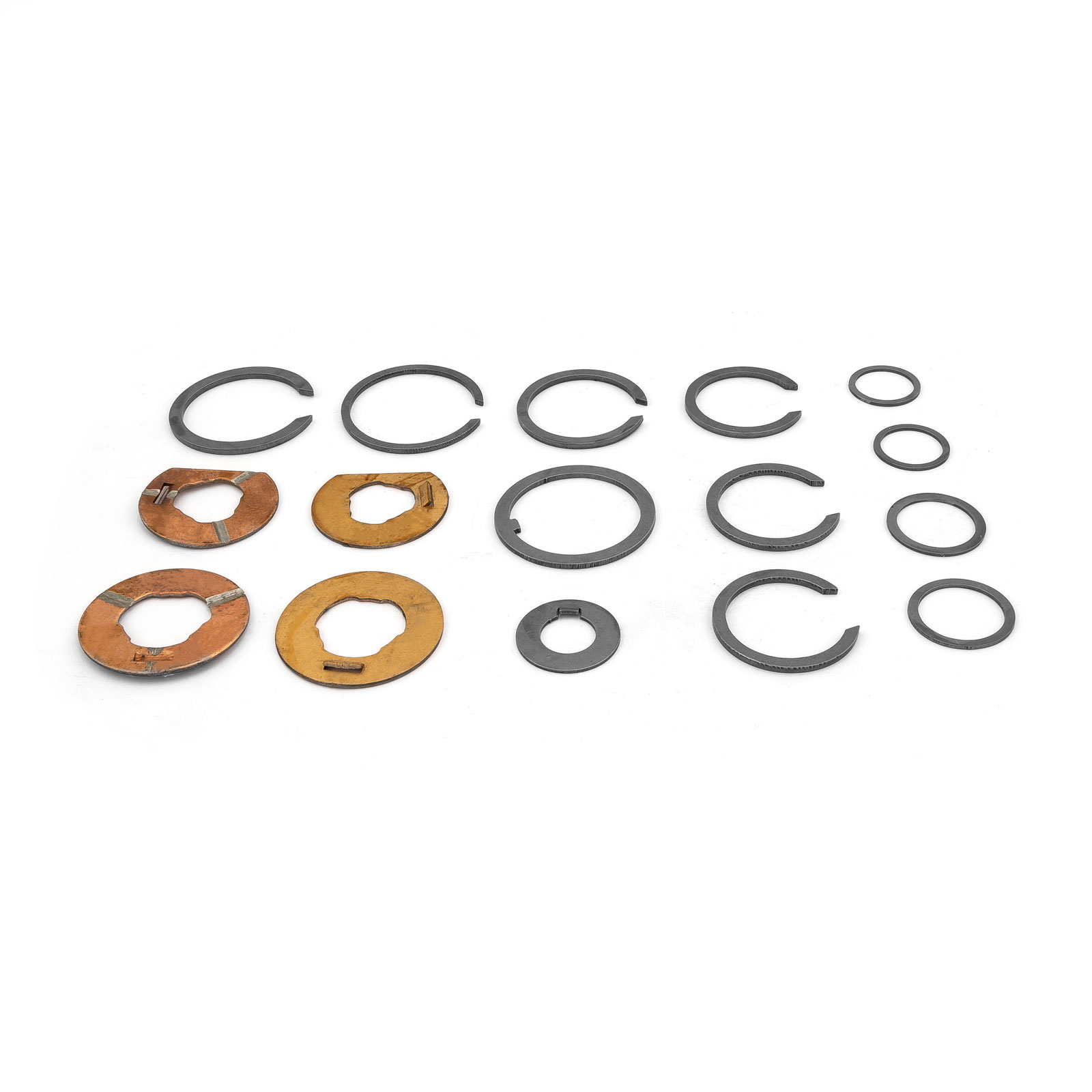 Ford Mustang Falcon Toploader Thrust Washer and Snap Ring Assortment