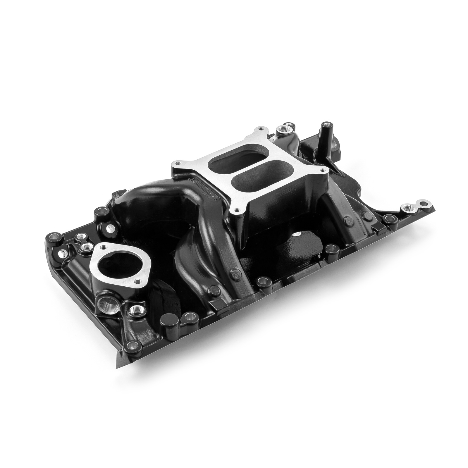 Mopar Chrysler Dodge SB 318 360 MidRise Air Intake Manifold Black
